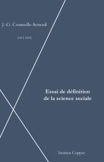 Cover Essai définition science sociale